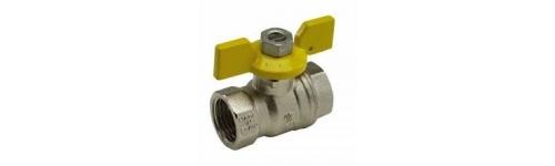 Guľové ventily na vodu, na plyn