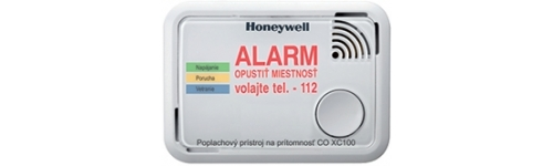 CO alarm Honeywell